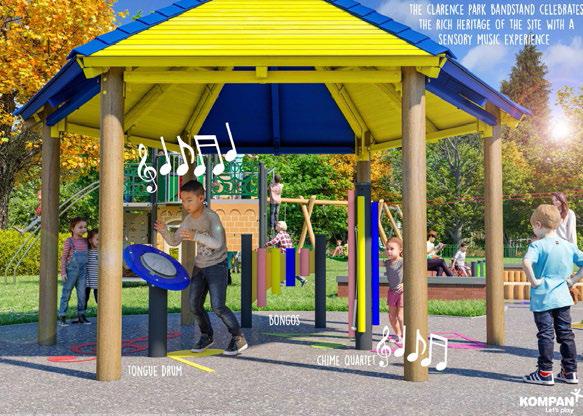 Sensory Music Bandstand