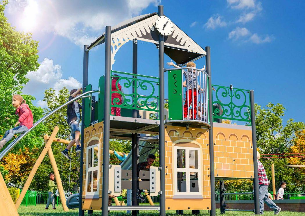 The Pavilion Play Unit