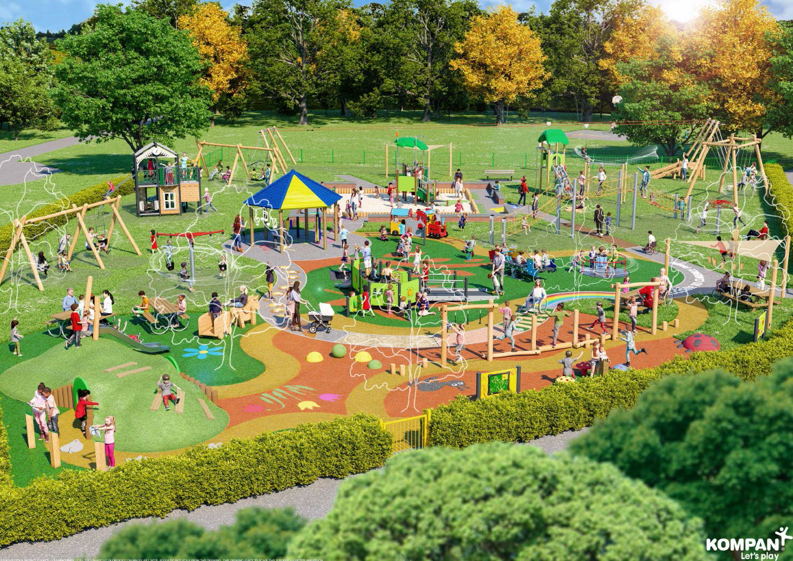 View of the Play Area